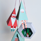 Chirstmas Ornament Prinable DIY Craft