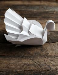 Thanksgiving modern tutkey diy printable craft