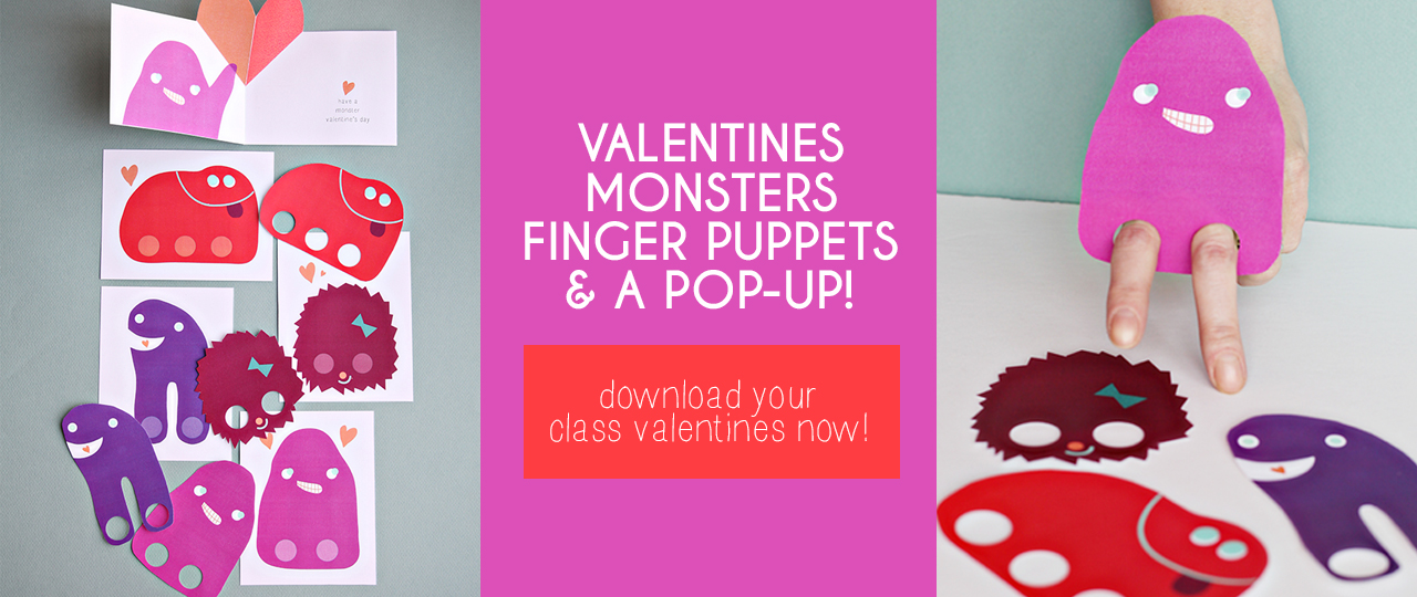 valentines-monsters