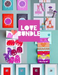 Valentines Love Bundle - 19 DIY printable Crafts to show your love