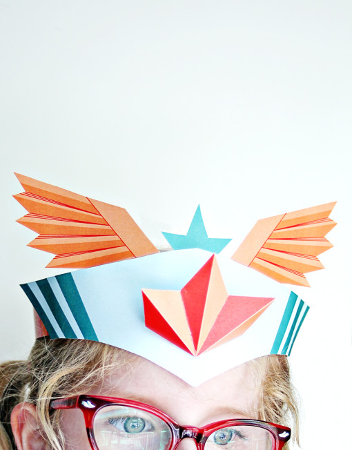 Superhero Crown - Paper DIY Printable Birthday Crown - Superhero Birthday party