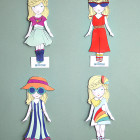 Willow Paper Doll Printable DIY craft for kids