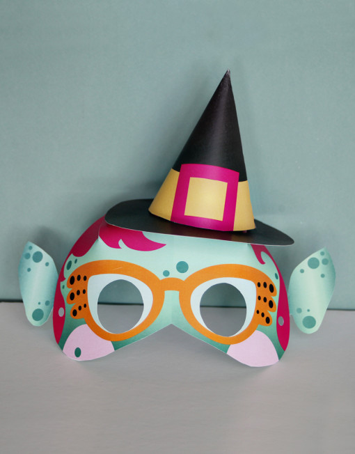 printable paper halloween masks - diy ghost, bat, and witch mask crafts for kids - last-minute halloween costume